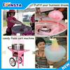 Free shipping Electric Cotton candy floss making machine with cart