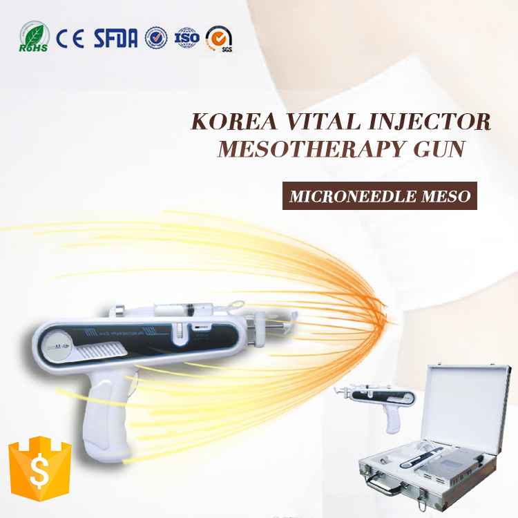 CE approval JRH-919 portable mesogun pistor for skin whitening / mesotherapy injection gun