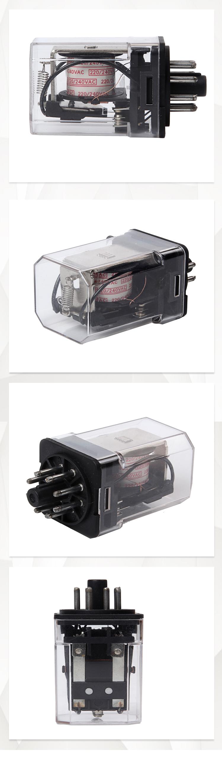 Cubierta transparente coche flasher relé de 24 V mini relé de relé universales