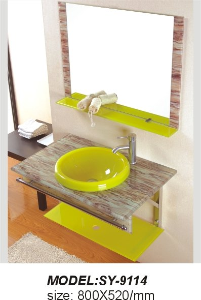 Lavamanos de cristal lavabo de cristal templado resultat for Lavamanos de cristal