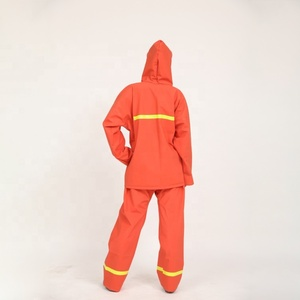 Outdoor winter jacket fluorescent raincoat design security guard uniform