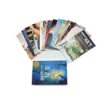 Custom print popular post cards or thank you cards greeting cards China manufacturer