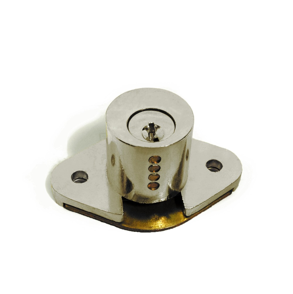 Popular Quality Polished Chrome Made Drawer Lock Office