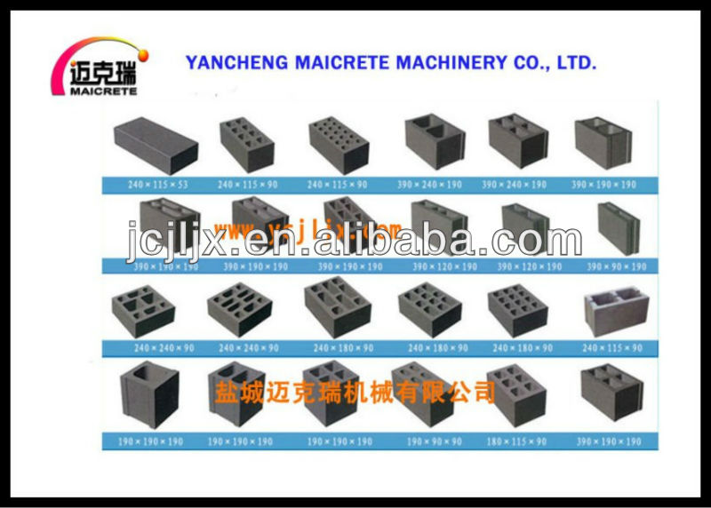 HOT!!! Concrete Color Roof Tile Molding Machine
