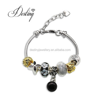 Destiny Jewellery 2017 hot sell Charming homemade crystal beads Bracelet  Embellished with crystal from Swarovski dbbe65c7c