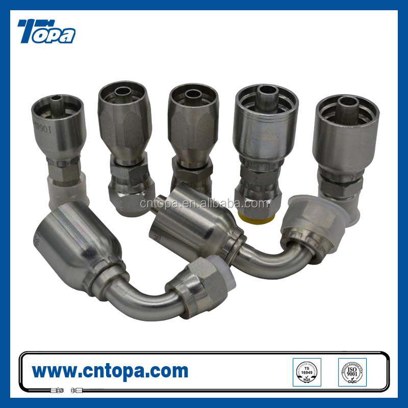 13493 JIC female thread one piece type high pressure hydraulic fittings