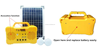 New design 10w small solar power system include panel solar kit for home use