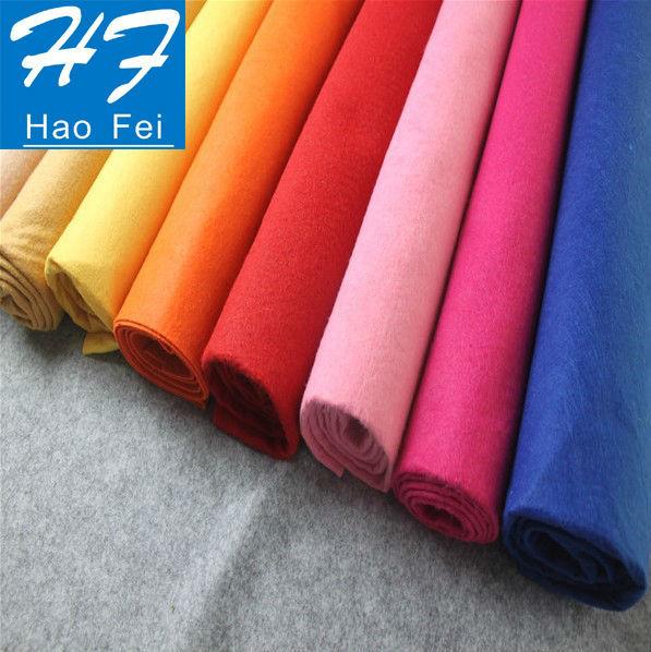 Hot Sale Polyester Felt Fabric Acrylic Felt Fabric