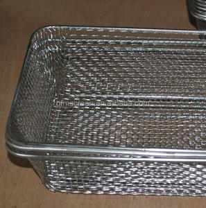 metal basket/stainless steel basket/wire mesh basket