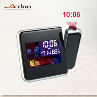 Good Quality Color Screen Calendar Clock with Weather Station and Projector Home Decoration