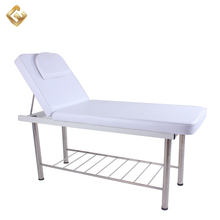 Cheap adjustment spa salon facial bed massage table backrest with face hole