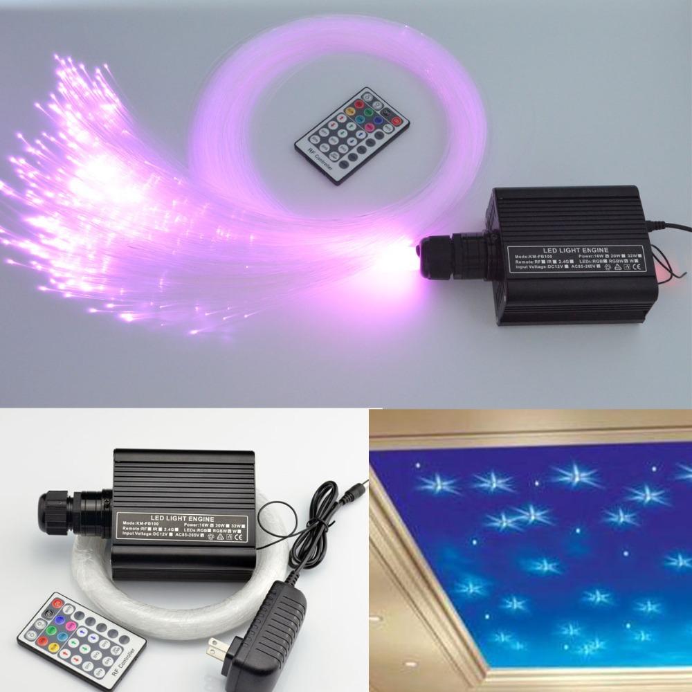 Colorful Fiber Optic Star Ceiling Kit Light 0 75mm 150pcs
