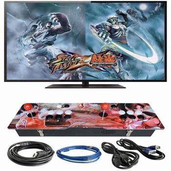 Winit 960 / 999 Classic Games Acrylic Board Design Plug And Play 2 Players  Joystick Street Fighter Box Arcade Gaming Station - Buy Fighter Box,Gaming