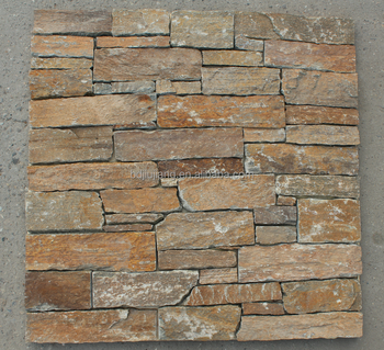 exterior wall cladding natural stone slite loose stone