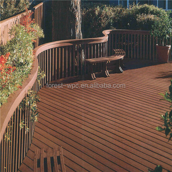 2016 newest formula faux wood decking wpc composite wood for Best composite decking brand 2016