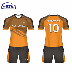 the latest fd051 2fed0 GZBOKA Gold Supplier wholesale soccer jersey cheap football jersey kit for  kids