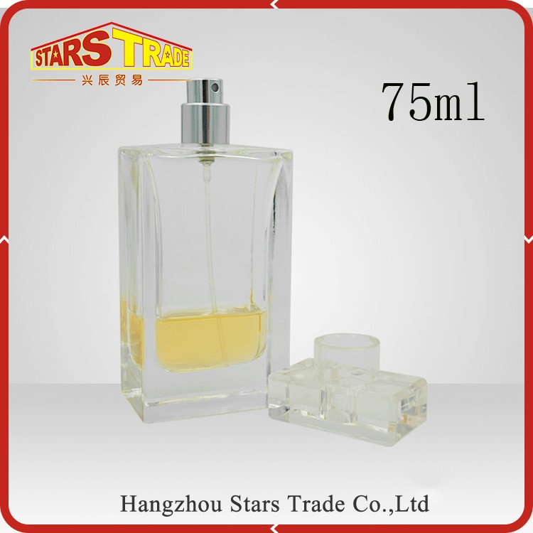 Classic brand perfume bottles glass container