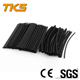 60 Pcs Heat Shrink Heatshrink Wire Cable Tubing Tube Sleeving Wrap Assorted Sizes Black
