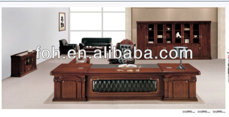 European Royal Design Executive Table Proessfional Ceo Office Desk Foh Za9b321 Furniture Designs Product