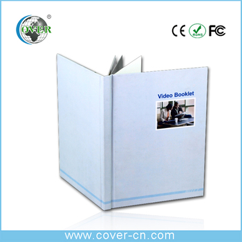 Promotional business Gifts digital LCD business video book