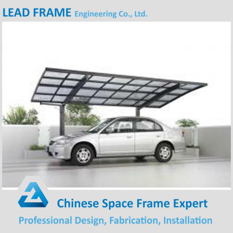 Estructura de acero estructura de metal garaje refugio de - Garajes de metal ...
