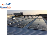 Aluminum Pitch Roof Solar Mounting System solar panel support structures for Solar Mounting System home use