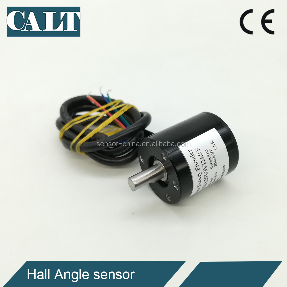 HAE28 3V Absolute Type Rotary Encoder 360 Degree SSI Hall Angle Sensor