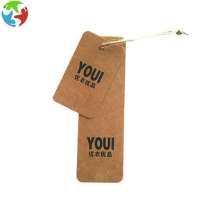 Brown Kraft Paper Tags Label Luggage Wedding Note price Hang tag
