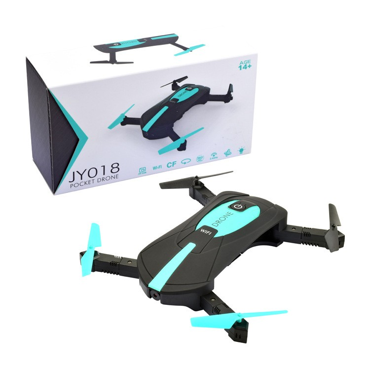 2017 New Arrival JY018 Foldable Mini Drone Rc Selfie Quadcopter Folding Elfie Pocket Helicopter With HD Camera Drones Height set
