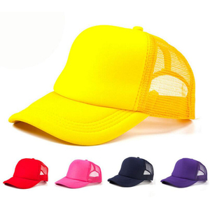 Cheap Blank Promotional Custom Logo Mesh Sport Cap Plain Caps and Baseball Cap Factory Wholesale Snap Back
