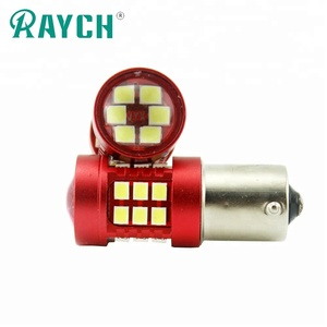1156 PY21W LED Bau15s LED Bulbs 1156 3156 7507 Lamp 30SMD 2835 Chips Car Lights 3157 Auto DRL 12V 6000K Turn Signal Bulb lamp