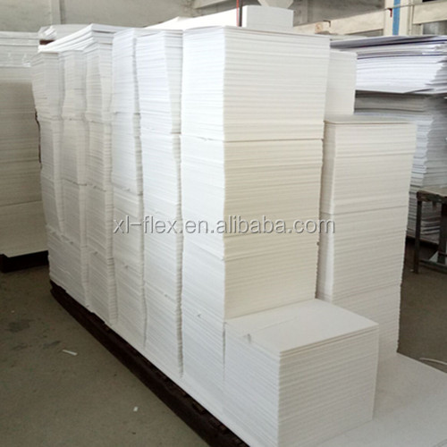White Natural Foam 5mm 300*500mm 50pcs/ctn