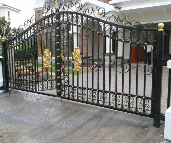 Modern Steel Gates Design Designer Stainless Gate Diffe Of Colors Metal Fence Yard Folding