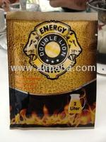 ENERGY DRINK POWDER FORM IN SACHET