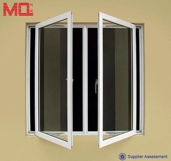Aluminum glass casement window with handle lock buy for Buy casement windows