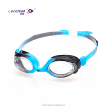 Lovely waterproof with anti fog kids swimming goggles