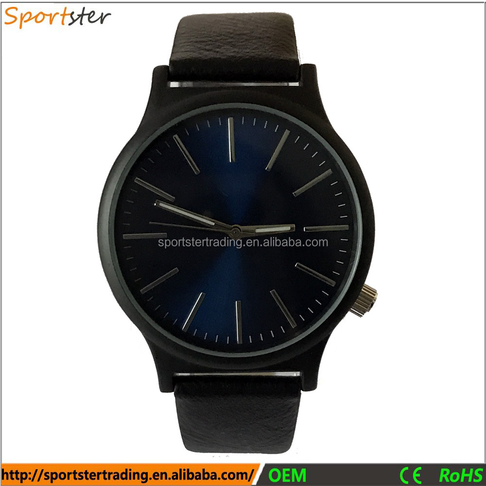 Mens Watches, Japan Movt Quartz Watch Stainless Steel Back, Watches Men