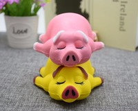 Mskwee 2018 hot sale slow rising cute pig squishy toys squishy toys for children