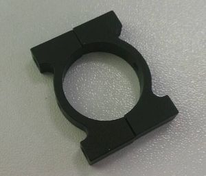 OEM carbon tube clamp HCC004 22mm pipe clamp for Multicoper, Drone