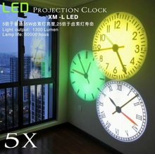 LED Wall Projection Clock