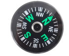 Jaxy brand Mini 15MM 18MM 20MM Qibla direction finder mini compass with liquid