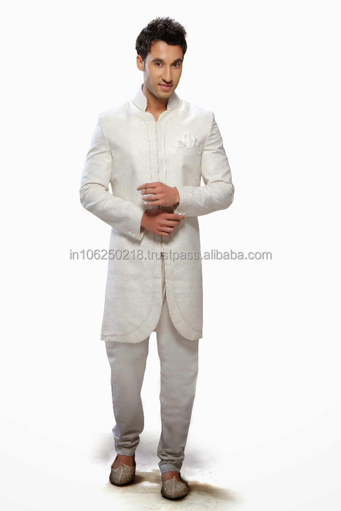 Pakistani Mens Sherwani Black Designs For Men Embroidered Designer R3332