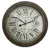 "16"" wooden old looking antique wall clock"
