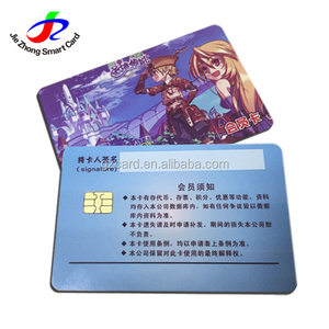 High quality smart card PVC Contactless chip recorder credit card