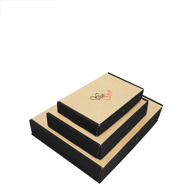 High quality luxury custom men underwear clothing packaging boxes