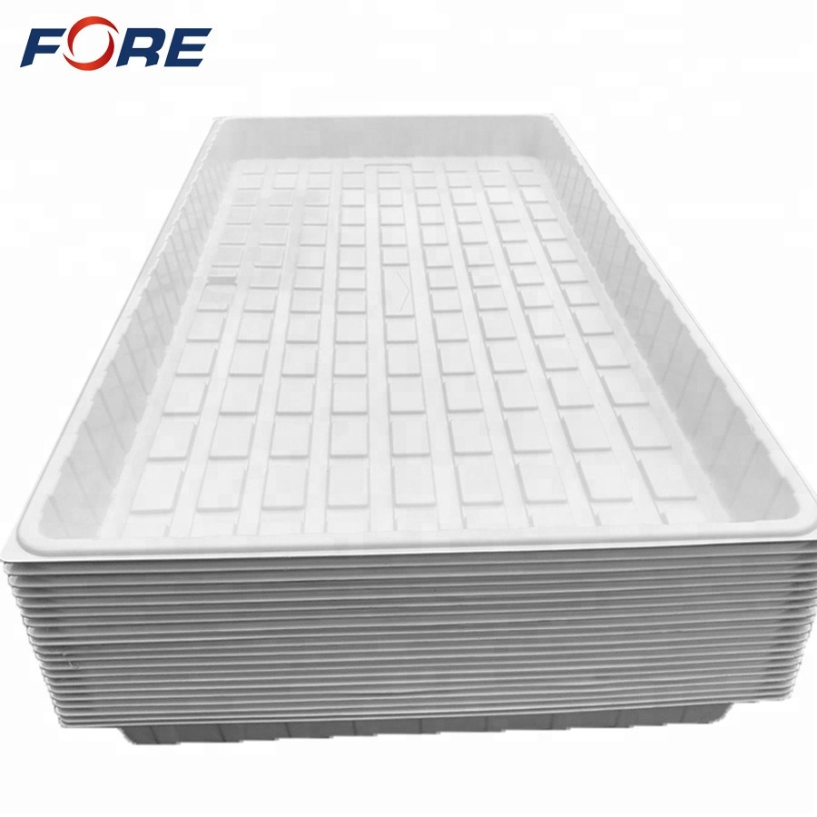 3x6 4x6 4x8 ABS PS Plastic Hydroponic Flood Tray Manufacturer