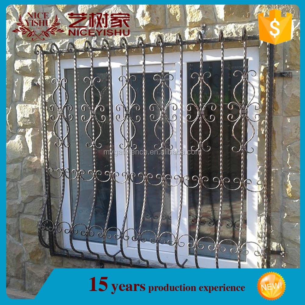 Safety Window Grill Design,Simple Iron Window Grills