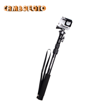 2016 fashionable traveling selfie stick monopod 1/4 with smartphone tripod adapter