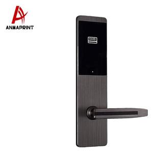 high quality keyless intelligent automation multi-functional lock hotel smart door lock
