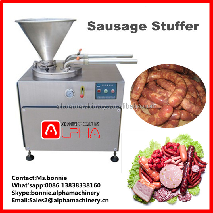Good Quality Beef Sausage Filling and Twisting Machine ham making stuffer